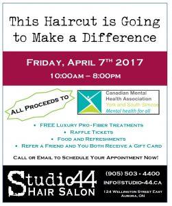Haircutting flyer - 2017 - Studio 44